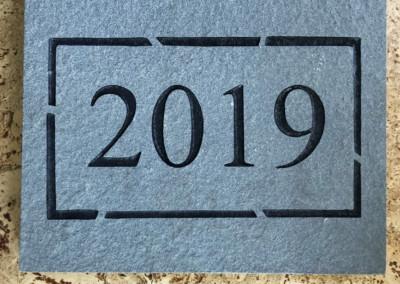 Cornerstone Date Plate (Packed 10pcs)